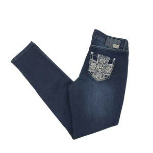 One 5 One Skinny Embellished Jeans Womens 6